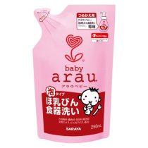 Arau 雅樂寶嬰兒泡沫洗奶樽液補充裝250毫升