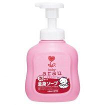 Arau 雅樂寶嬰兒2合1天然泡沫沐浴洗髮露450毫升