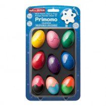 BabyColor 嬰兒安全玩具雞蛋蠟筆12色1