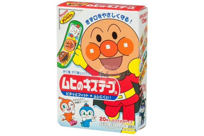 Muhi 池田麵包超人兒童膠布20片