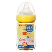 Pigeon 貝親嬰兒PPSU母乳奶瓶160毫升(動物圖案)