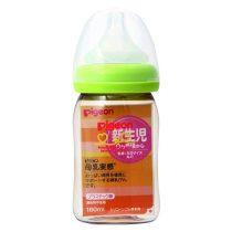 Pigeon 貝親嬰兒PPSU母乳奶瓶160毫升(綠色)