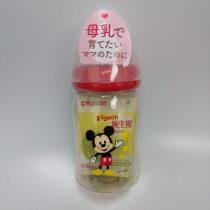 Pigeon 貝親嬰兒PPSU母乳奶瓶240毫升(米奇老鼠)