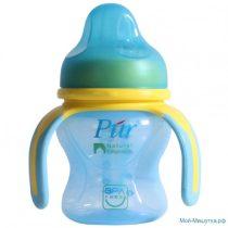 Pur 嬰兒學習杯150毫升 (藍色)