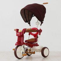 iimo 二代SS版兒童摺疊三輪車 (紅色)