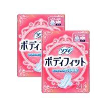 unicharm-sofy-body-fit-hanenashi-with-wings-24pcs-x-2