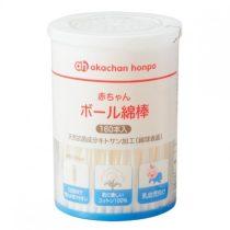Akachan Honpo 阿卡將嬰兒扭紋棉花棒160支