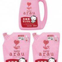 Arau 雅樂寶嬰兒洗衣液套裝 (1支裝 + 12包補充裝)