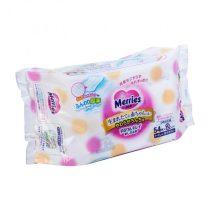 Merries 花王嬰兒加厚濕紙巾補充裝54片x 2包2
