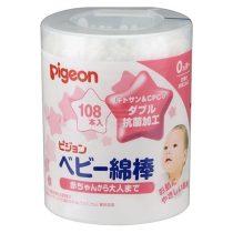 Pigeon 貝親嬰兒天然抗菌棉棒108支