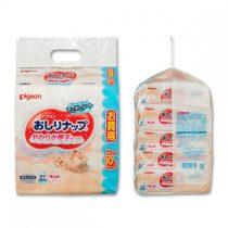 Pigeon 貝親嬰兒輕柔加厚濕紙巾補充裝80片 x 10包