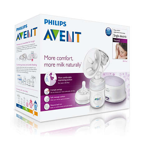 PHILIPS AVENT舒適單邊電動吸乳器