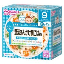 Wakodo Japanese Pilaf with Snapper & vegetable 9 Months 80g*2