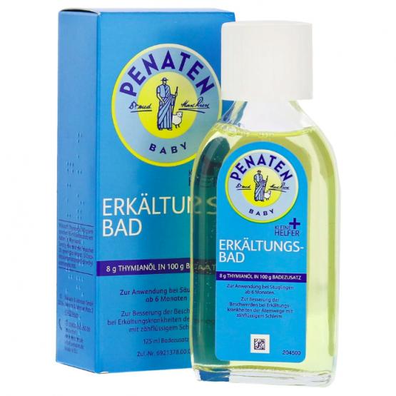德國Penaten感冒沐浴油(嬰幼兒和成人適用)