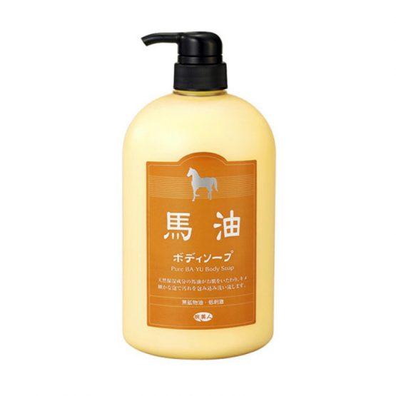 日本旅美人馬油沐浴乳1000ml(皮膚乾而痕用1星期左右應該見效)
