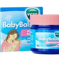 Vicks Baby Balsam 感冒通鼻塞舒緩膏