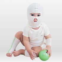 嬰兒濕疹防抓臉濕敷頭套