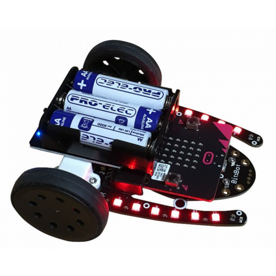 4:tronix Bit Bot Car for micro:bit (須另購micro:bit) (行貨1年保養)