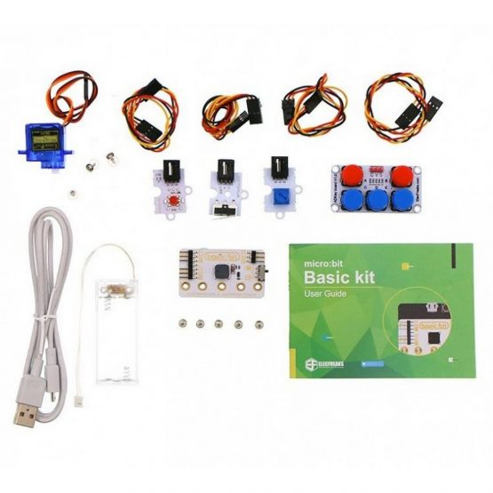 Elecfreaks Basic Kit for micro:bit (須另購micro:bit) (行貨1年保養)