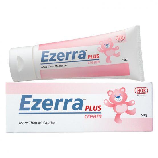Ezerra Plus Cream 熊仔膏加強版 50g 嬰兒濕疹敏感潤膚軟膏(非葯物及不含類固醇)