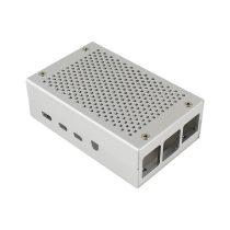 Raspberry Pi 4 專用鋁殻 銀色