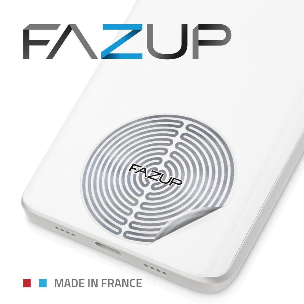 Fazup防手機輻射貼片銀色 (2片裝)