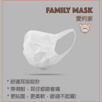愛的家 Family Mask S99 成人口罩 (50個:盒) 無紡布耳帶