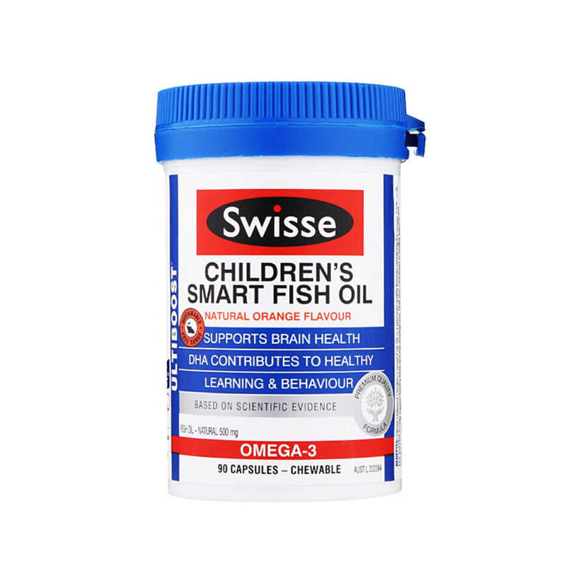 Swisse 兒童魚油 90粒