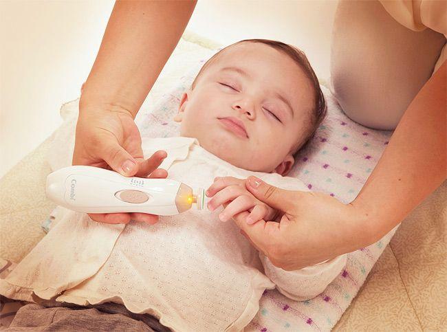 日本COMBI 母嬰兩用電動磨甲器 (粉紅)2