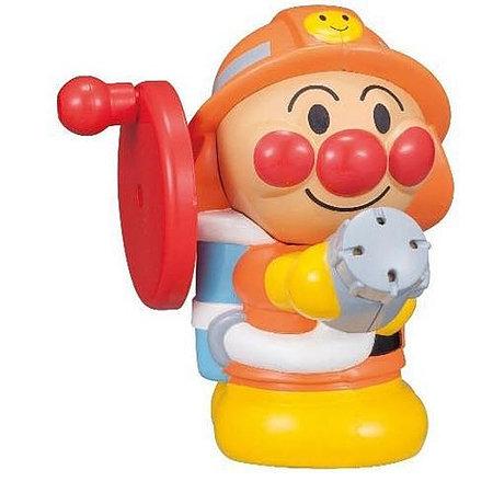 麵包超人消防員噴水沖涼玩具
