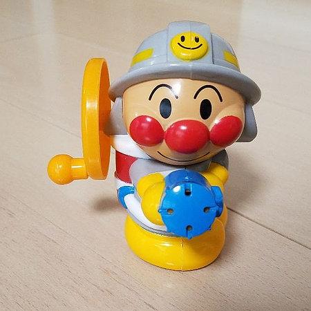 麵包超人消防員噴水沖涼玩具2