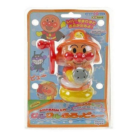 麵包超人消防員噴水沖涼玩具3