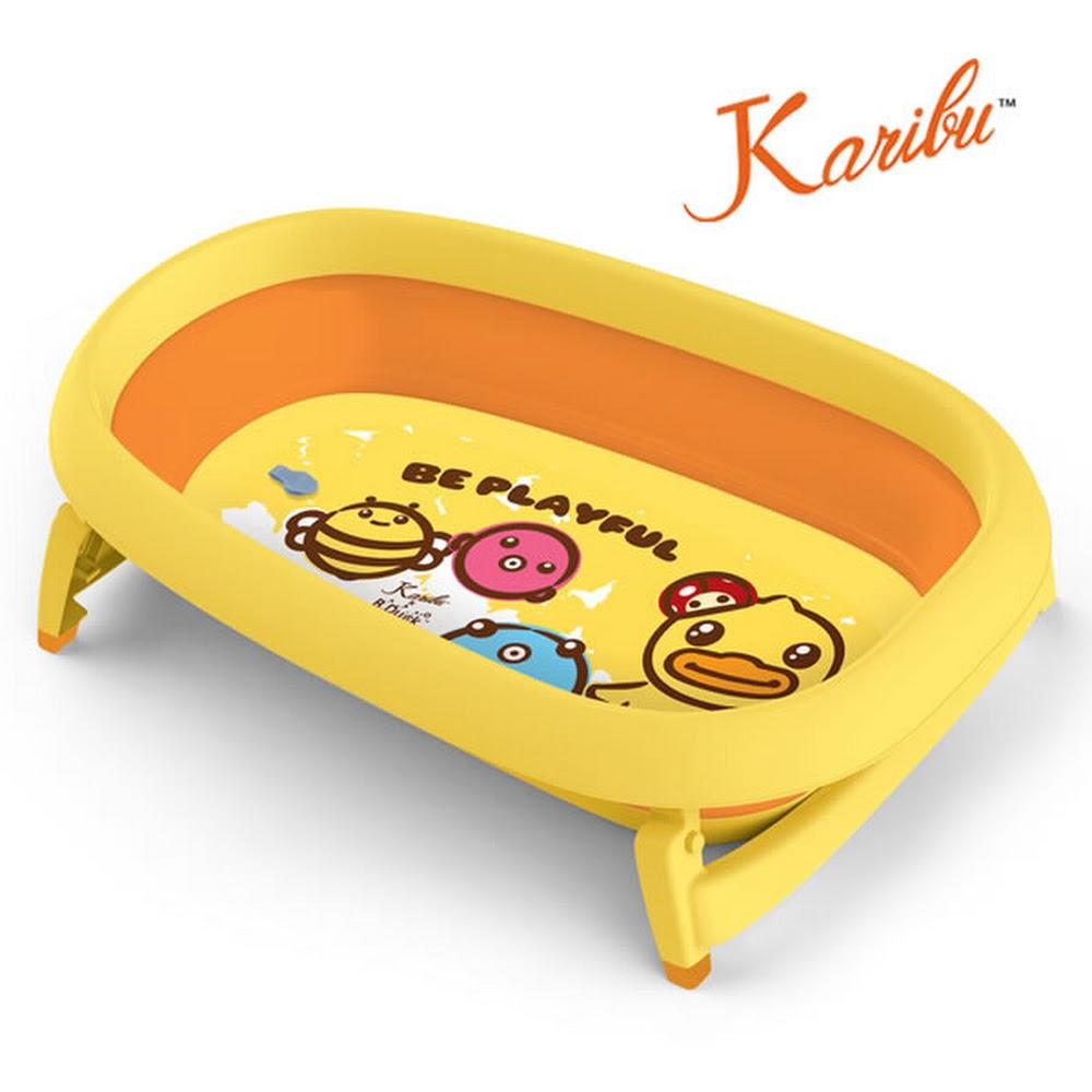Karibu x B duck Mega 特大摺疊浴盤