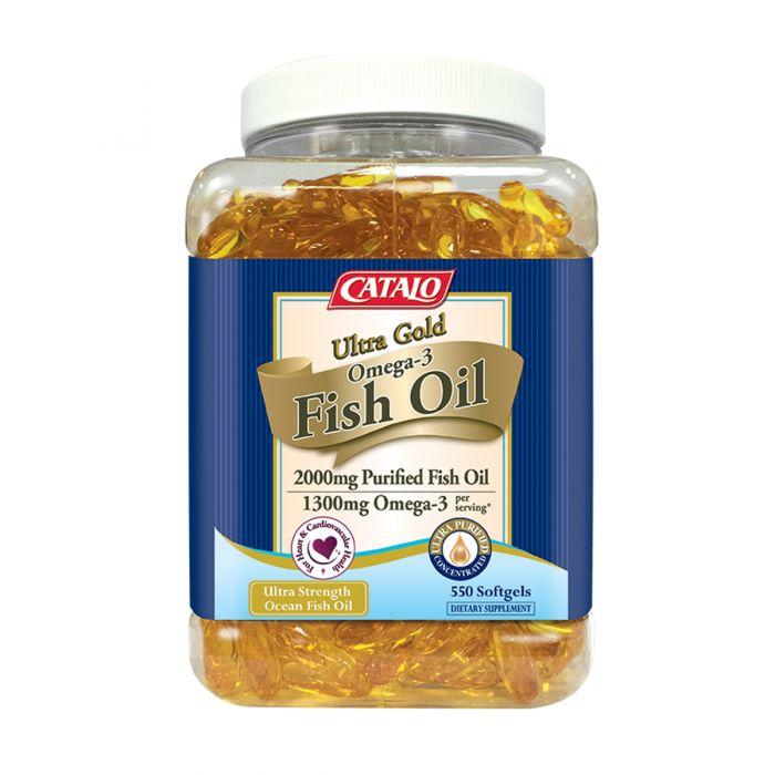 金裝奧米加3深海魚油精華 550粒 x 2瓶