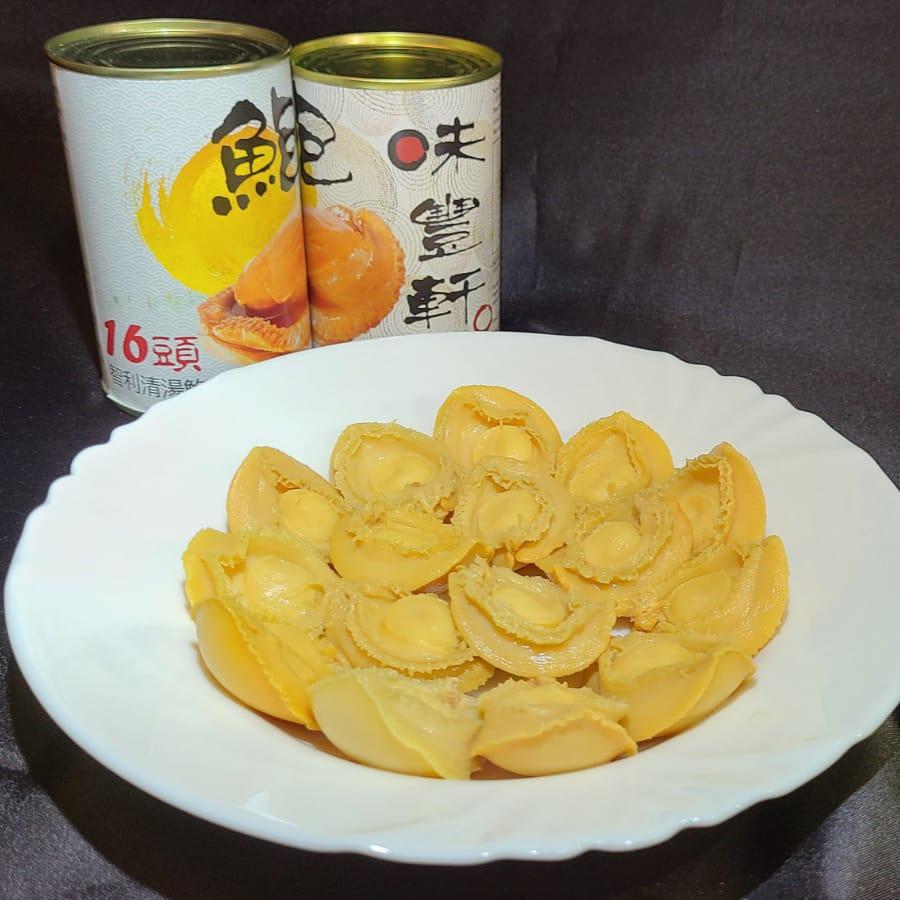 味豐軒智利金黃16頭鮑魚(16隻)